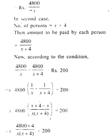 Selina Concise Mathematics Class 10 ICSE Solutions Chapter 6 Solving Problems Ex 6E Q3.1