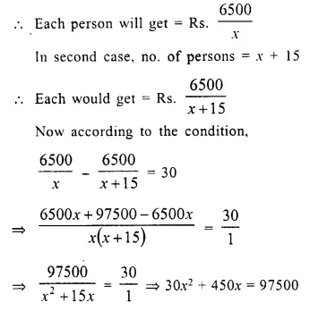 Selina Concise Mathematics Class 10 ICSE Solutions Chapter 6 Solving Problems Ex 6E Q5.1
