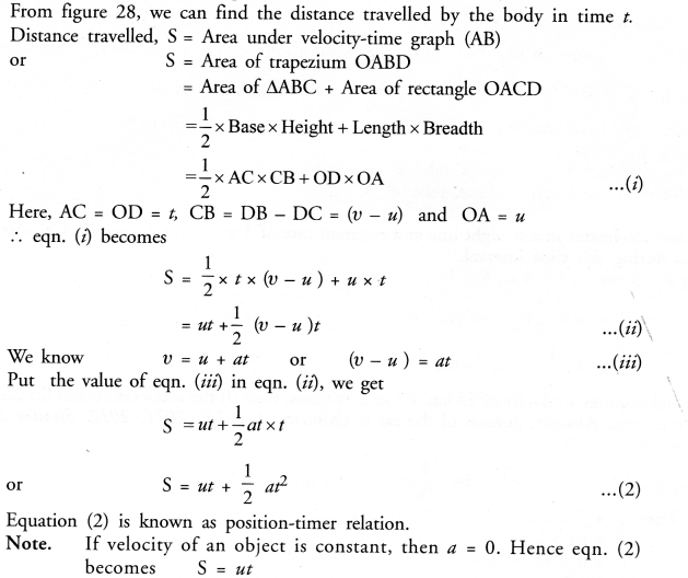 Motion Class 9 Important Questions Science Chapter 8 image - 28