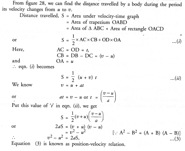Motion Class 9 Important Questions Science Chapter 8 image - 29