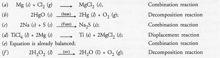 NCERT Exemplar Solutions for Class 10 Science Chapter 1 Chemical Reactions and Equations image - 14