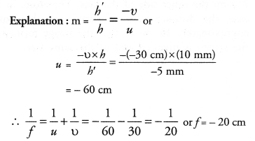 NCERT Exemplar Solutions for Class 10 Science Chapter 10 Light Reflection and Refraction image - 1