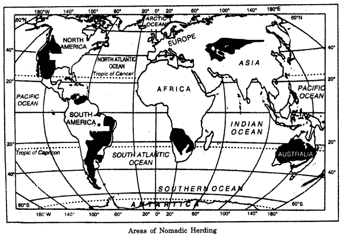 Geography Class 12 Important Questions Chapter 5 Primary Activities 2