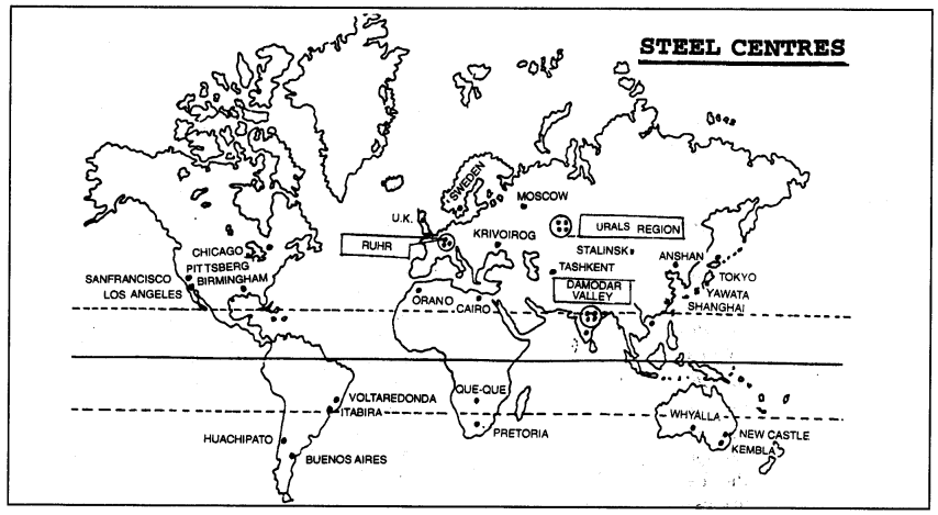 Geography Class 12 Important Questions Chapter 6 Secondary Activities 1