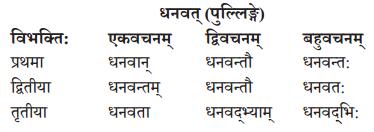 Abhyasvan Bhav Sanskrit Class 10 Solutions Chapter 8 प्रत्यया 11