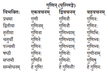 Abhyasvan Bhav Sanskrit Class 10 Solutions Chapter 8 प्रत्यया 13