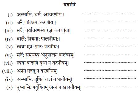 Abhyasvan Bhav Sanskrit Class 10 Solutions Chapter 8 प्रत्यया 8