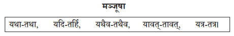 Abhyasvan Bhav Sanskrit Class 10 Solutions Chapter 9 अव्ययानि Q5