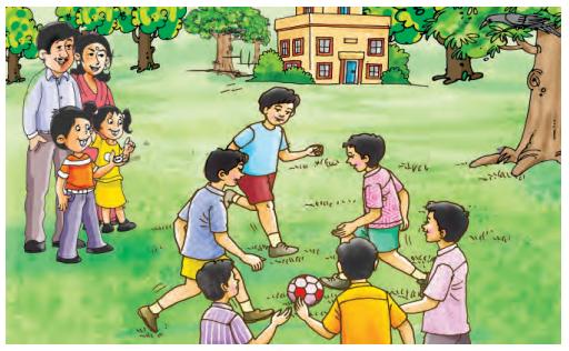 Abhyasvan Bhav Sanskrit Class 9 Solutions Chapter 3 चित्रवर्णनम् 2