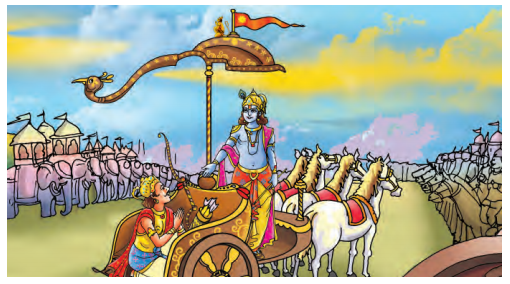Abhyasvan Bhav Sanskrit Class 9 Solutions Chapter 3 चित्रवर्णनम् 6