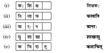 Abhyasvan Bhav Sanskrit Class 9 Solutions Chapter 6 कारकोपपदविभक्तिः 26