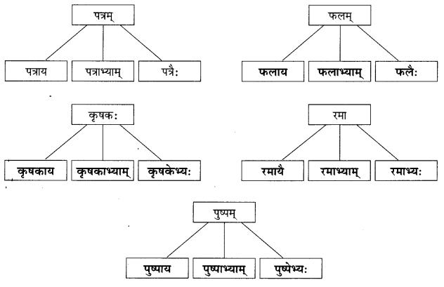 Abhyasvan Bhav Sanskrit Class 9 Solutions Chapter 6 कारकोपपदविभक्तिः 36
