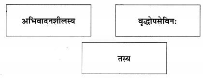 Abhyasvan Bhav Sanskrit Class 9 Solutions Chapter 6 कारकोपपदविभक्तिः 41