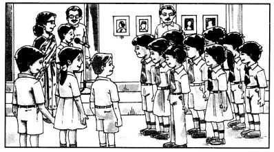 Class 10 Sanskrit Grammar Book Solutions चित्रवर्णनम् अथवा अनुच्छेदलेखनम् 10