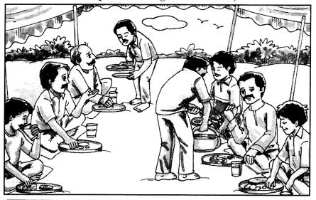 Class 10 Sanskrit Grammar Book Solutions चित्रवर्णनम् अथवा अनुच्छेदलेखनम् 11