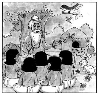 Class 10 Sanskrit Grammar Book Solutions चित्रवर्णनम् अथवा अनुच्छेदलेखनम् 13
