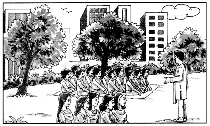 Class 10 Sanskrit Grammar Book Solutions चित्रवर्णनम् अथवा अनुच्छेदलेखनम् 16