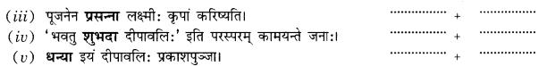 Class 10 Sanskrit Grammar Book Solutions प्रत्ययाः Q18.1