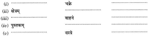Class 6 Sanskrit Grammar Book Solutions संज्ञा शब्द-रूपाणि तथा वाक्यप्रयोगः 14