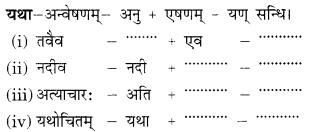 Class 9 Sanskrit Grammar Book Solutions सन्धिः 3