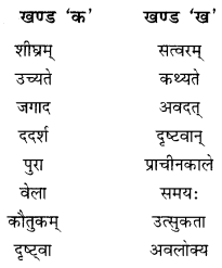 NCERT Solutions for Class 10 Sanskrit Shemushi Chapter 2 बुद्धिर्बलवती सदा Additional Q6.2