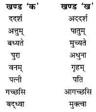 NCERT Solutions for Class 10 Sanskrit Shemushi Chapter 2 बुद्धिर्बलवती सदा Additional Q8.2