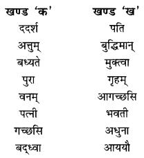 NCERT Solutions for Class 10 Sanskrit Shemushi Chapter 2 बुद्धिर्बलवती सदा Additional Q8