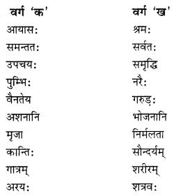 NCERT Solutions for Class 10 Sanskrit Shemushi Chapter 3 व्यायामः सर्वदा पथ्यः Additional Q5.2