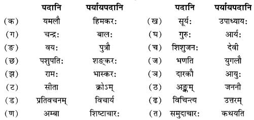 NCERT Solutions for Class 10 Sanskrit Shemushi Chapter 4 शिशुलालनम् Additional Q7