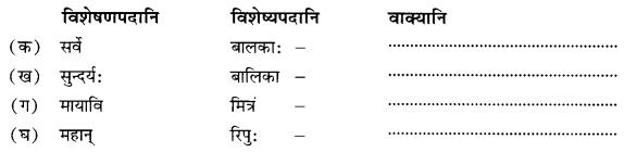 NCERT Solutions for Class 10 Sanskrit Shemushi Chapter 4 शिशुलालनम् Additional Q8.1