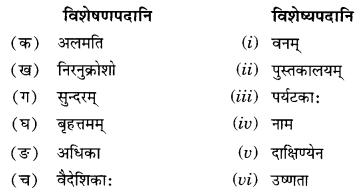 NCERT Solutions for Class 10 Sanskrit Shemushi Chapter 4 शिशुलालनम् Additional Q8