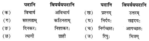NCERT Solutions for Class 10 Sanskrit Shemushi Chapter 4 शिशुलालनम् Additional Q9.1