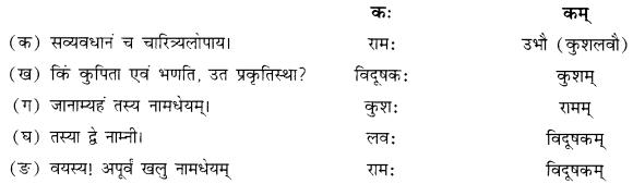 NCERT Solutions for Class 10 Sanskrit Shemushi Chapter 4 शिशुलालनम् Q5.1