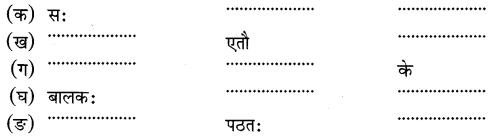 NCERT Solutions for Class 6 Sanskrit Chapter 1 शब्द परिचयः 1.16