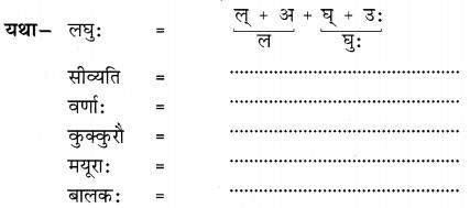 NCERT Solutions for Class 6 Sanskrit Chapter 1 शब्द परिचयः 1.4