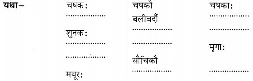 NCERT Solutions for Class 6 Sanskrit Chapter 1 शब्द परिचयः 1.7