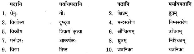 NCERT Solutions for Class 9 Sanskrit Shemushi Chapter 3 गोदोहनम् 2