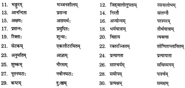 NCERT Solutions for Class 9 Sanskrit Shemushi Chapter 3 गोदोहनम् 3