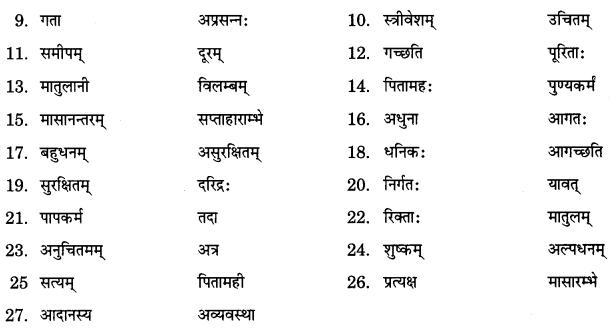 NCERT Solutions for Class 9 Sanskrit Shemushi Chapter 3 गोदोहनम् 5