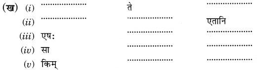 MCQ Questions for Class 6 Sanskrit Chapter 3 शब्द परिचयः 3 with Answers 4