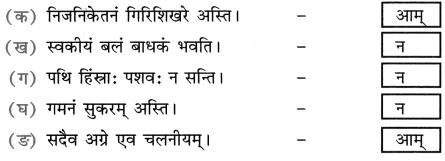 NCERT Solutions for Class 8 Sanskrit Chapter 4 सदैव पुरतो निधेहि चरणम् 2
