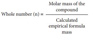 Empirical Formula and Molecular Formula img 3