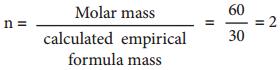 Empirical Formula and Molecular Formula img 5