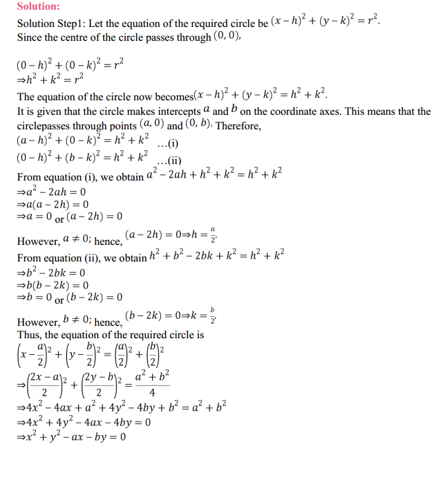 NCERT Solutions for Class 11 Maths Chapter 11 Conic Sections Ex 11.1 10