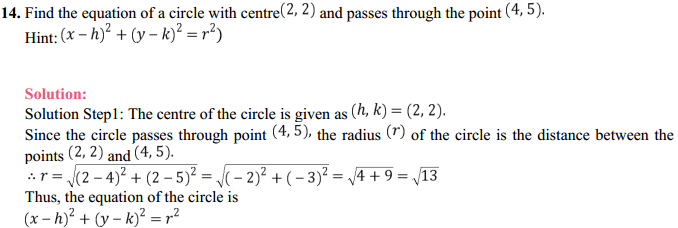 NCERT Solutions for Class 11 Maths Chapter 11 Conic Sections Ex 11.1 11