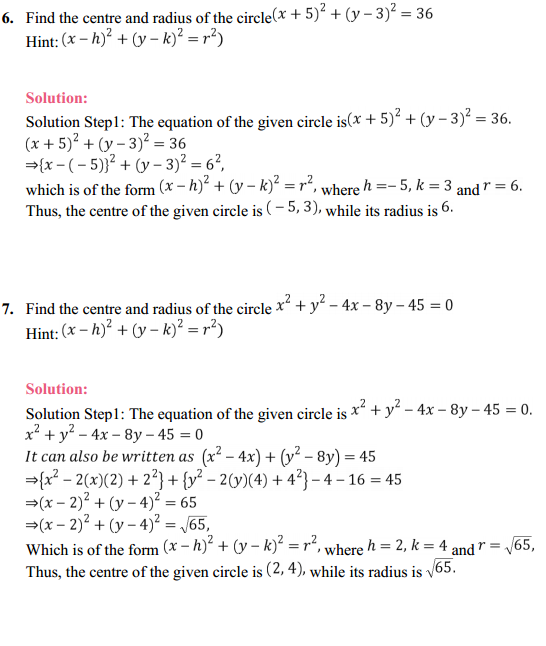 NCERT Solutions for Class 11 Maths Chapter 11 Conic Sections Ex 11.1 3