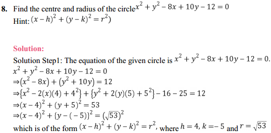 NCERT Solutions for Class 11 Maths Chapter 11 Conic Sections Ex 11.1 4