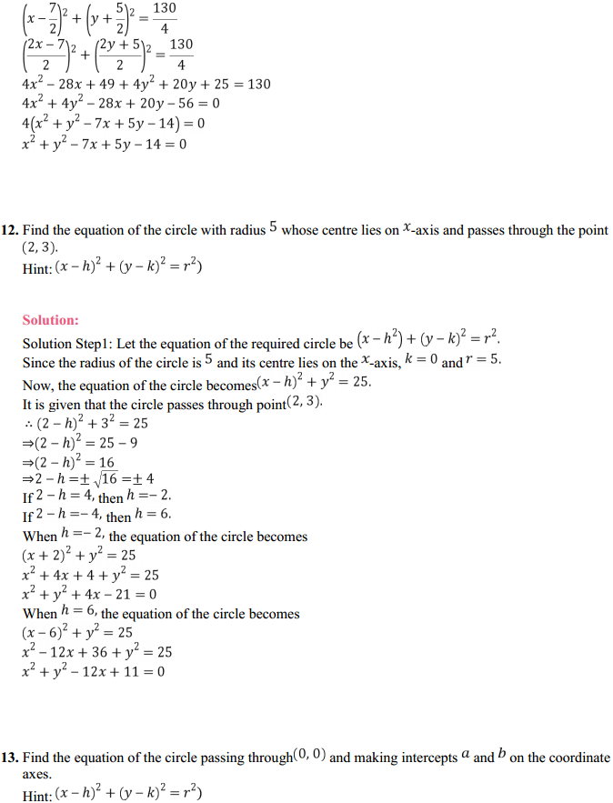 NCERT Solutions for Class 11 Maths Chapter 11 Conic Sections Ex 11.1 9