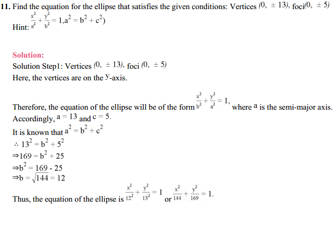 NCERT Solutions for Class 11 Maths Chapter 11 Conic Sections Ex 11.2 14