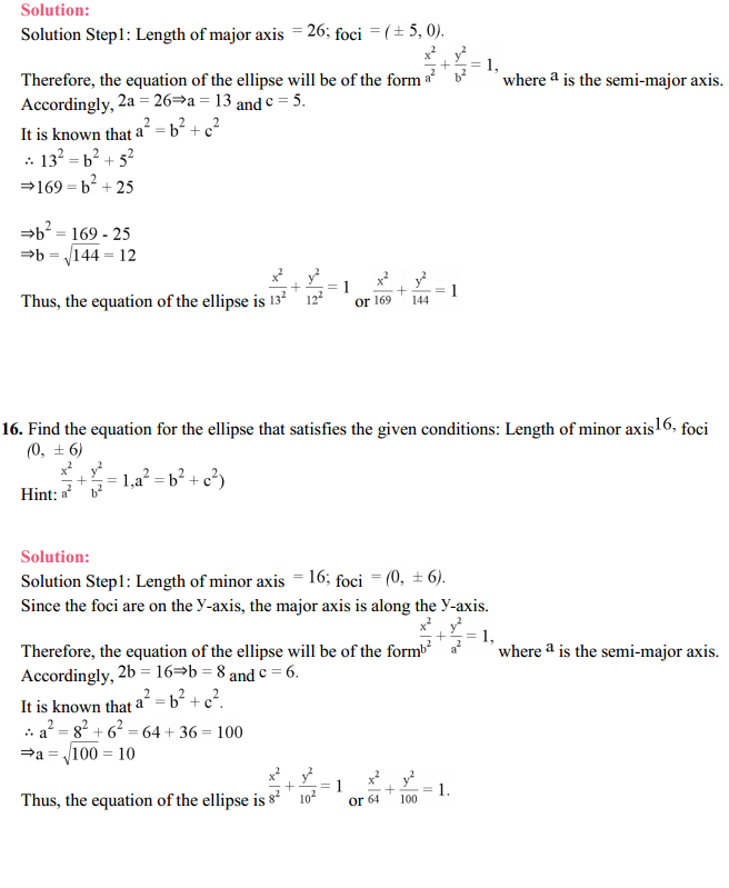 NCERT Solutions for Class 11 Maths Chapter 11 Conic Sections Ex 11.2 18